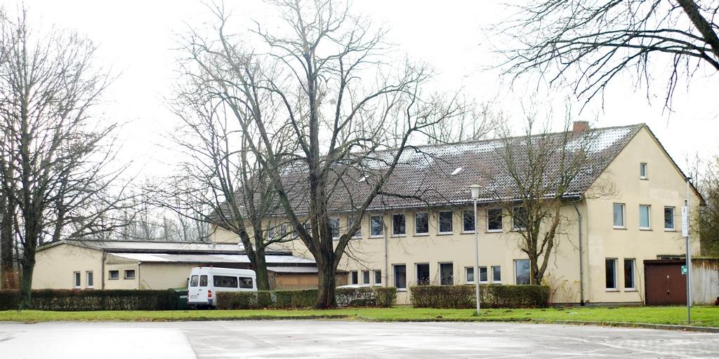 Blick auf die im Frühjahr 2018 für das BibelCenter Minden zu erwerbende Immobilie.